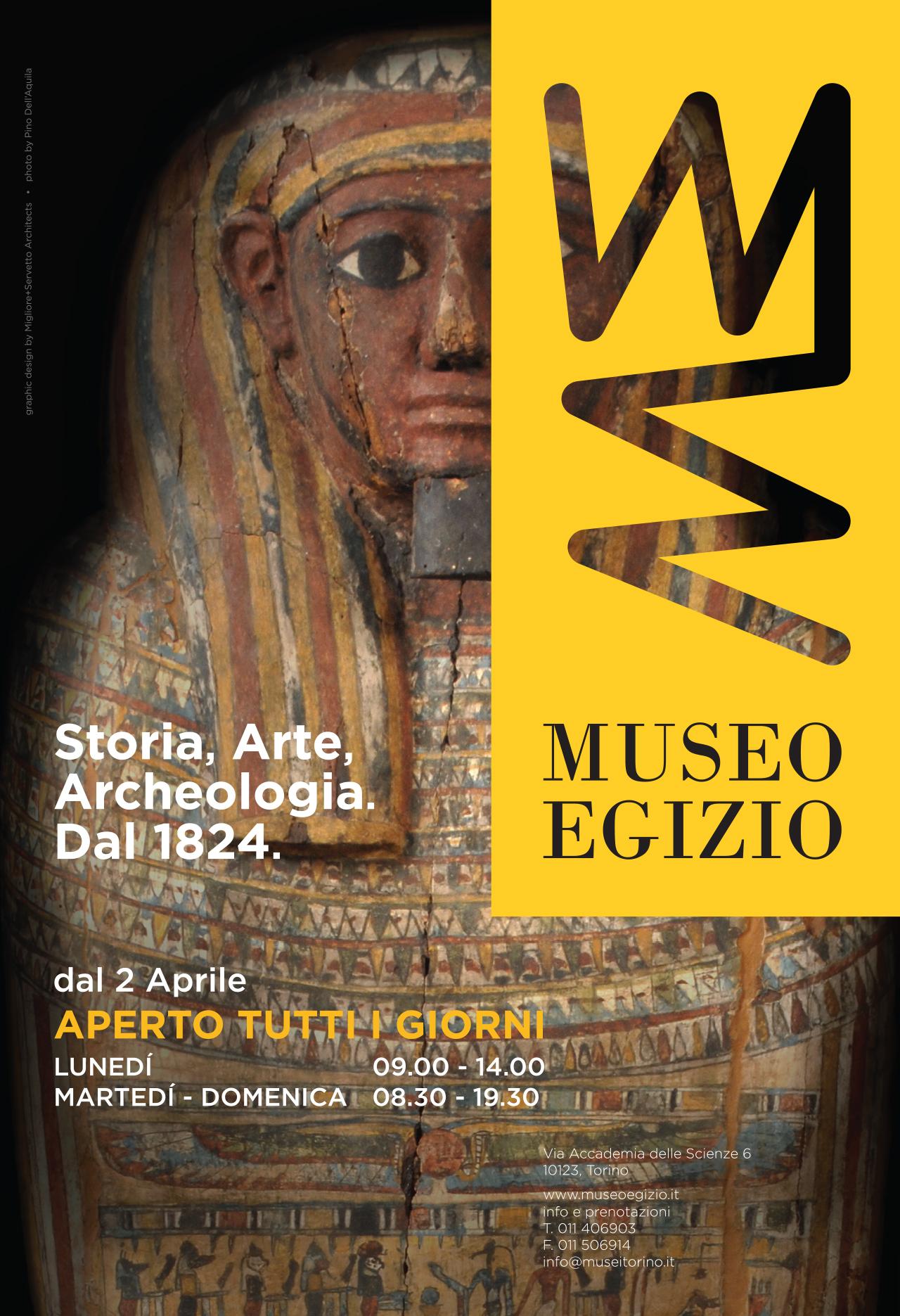 275×402 Museo Egizio per Repubblica Nazionale del 31 marzo
