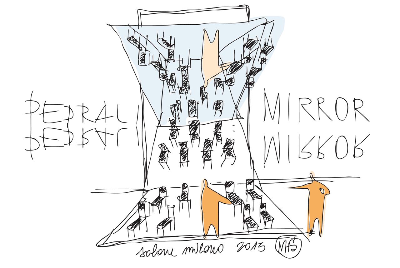 M+S_Pedrali mirror_sketch by Ico Migliore