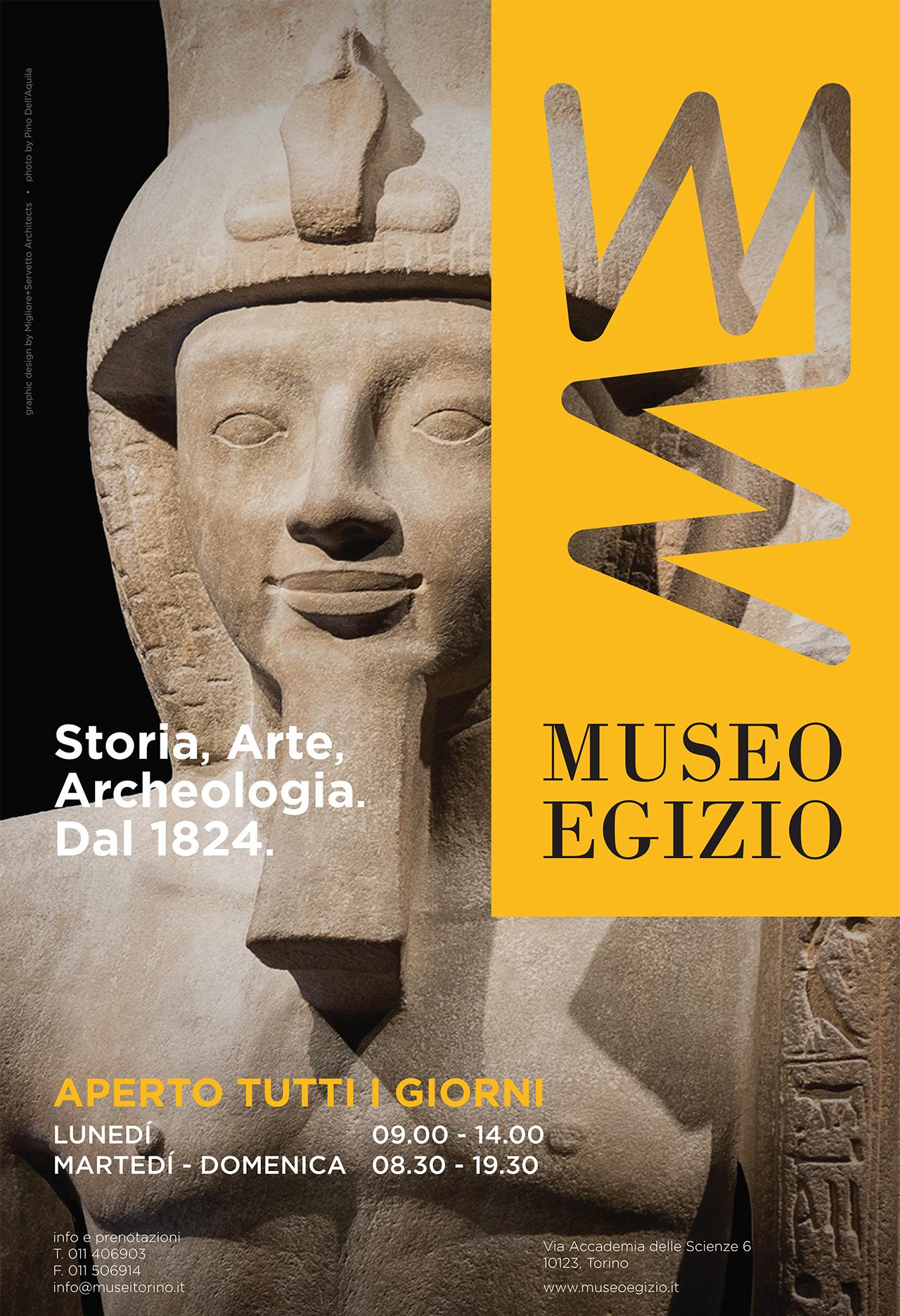 275×420 Museo Egizio per La Stampa nazionale del 1 aprile