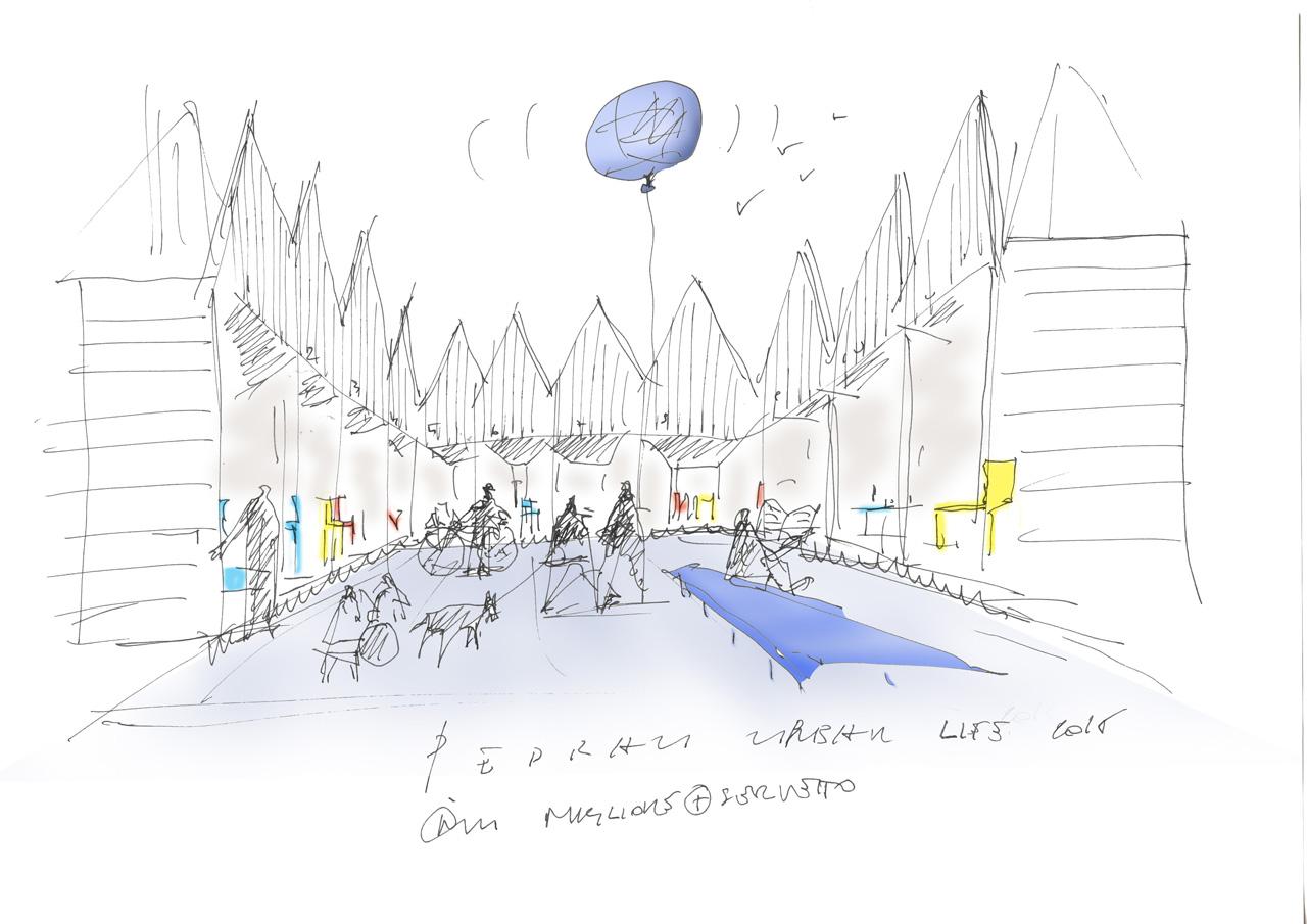 miglioreservetto-architects_pedrali_urban-life_sktech-by-ico-migliore