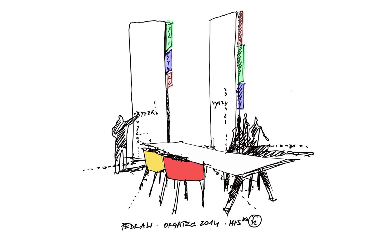 pedrali-orgatec_sketch-by-ico-migliore