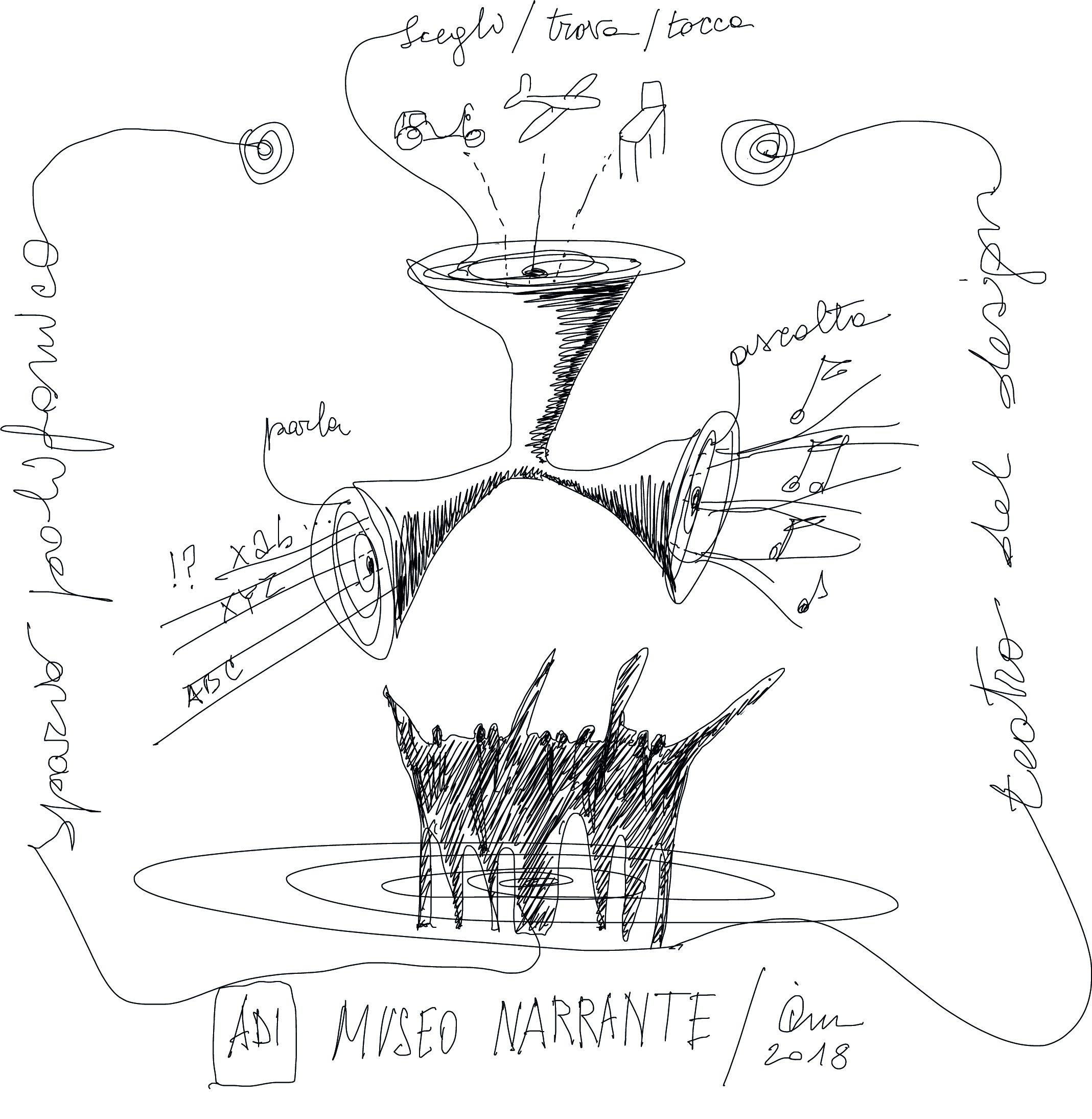 Sketch by Ico Migliore